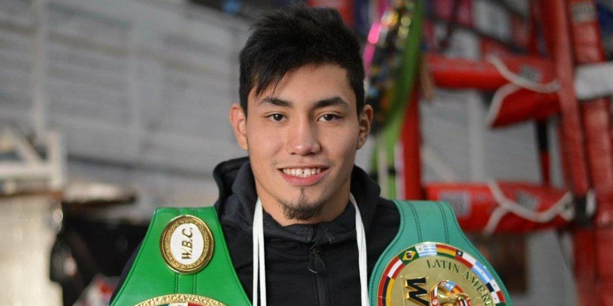 Boxeador mexicano recibe impacto de bala