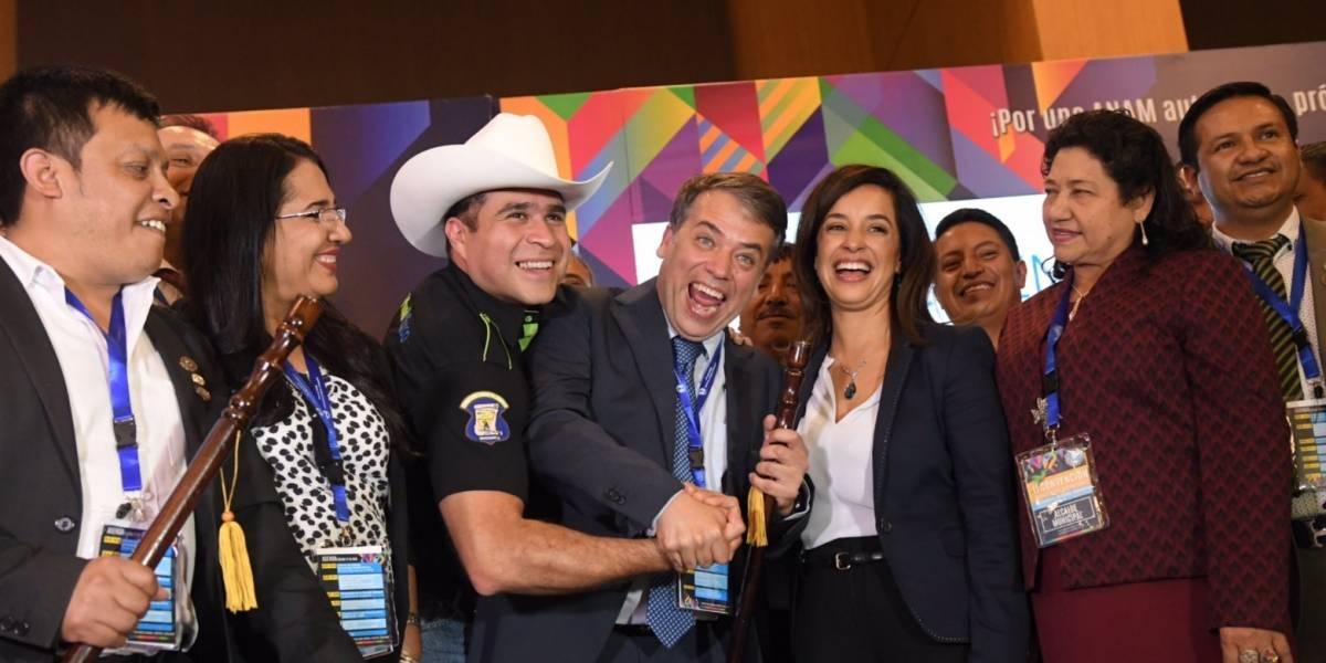 Edwin Escobar, alcalde de Villa Nueva, es reelecto como presidente de la Anam