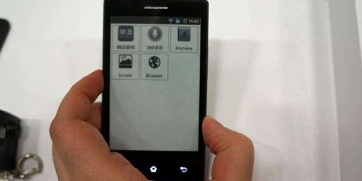 MWC13: Presentan prototipo de smartphone con pantalla de tinta digital