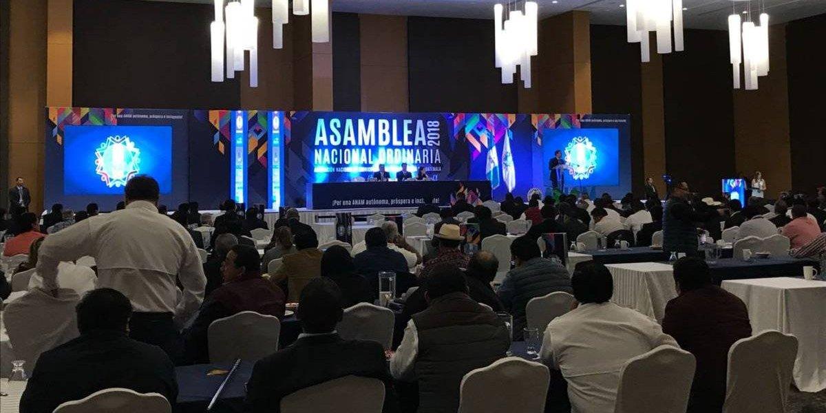 Alcaldes votan para elegir nueva junta directiva de la Anam