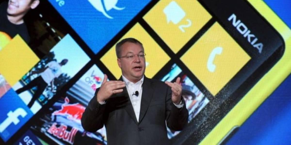 CEO de Nokia dice que podría haber tablet con Windows 8