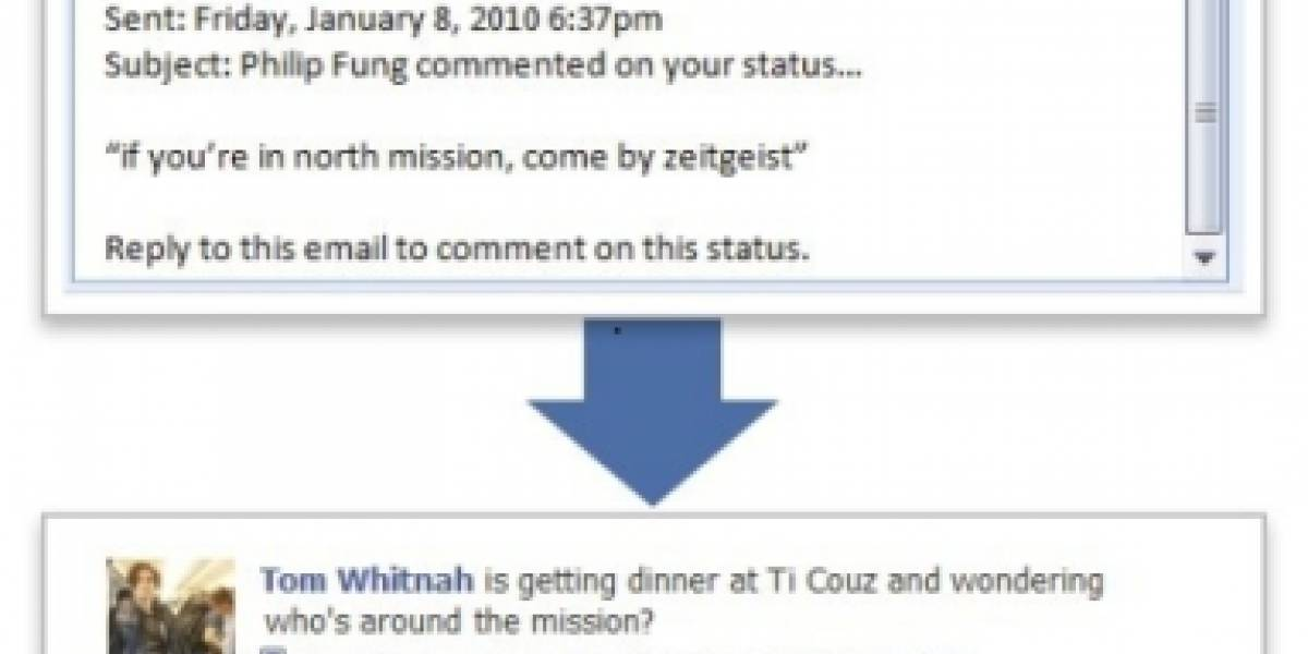 Ahora puedes contestar los comentarios en Facebook por correo