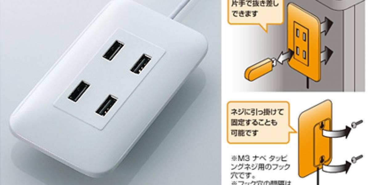 Enchufe USB