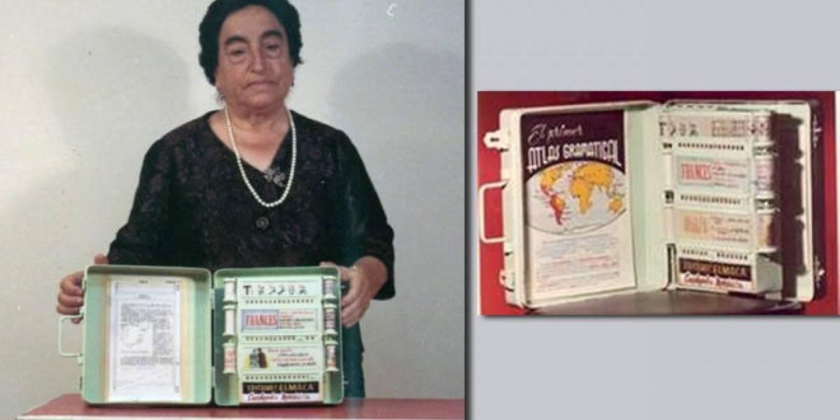 Abuela española fue la precursora del libro electrónico en 1949