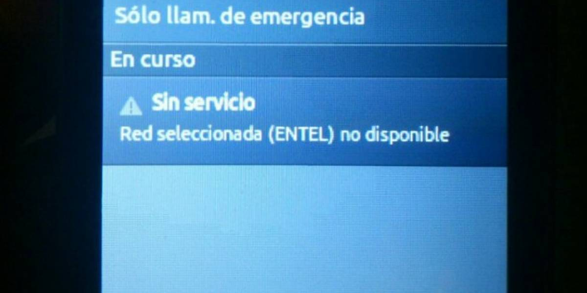 Chile: Servicio móvil de Entel vuelve a la normalidad, VTR y Nextel también fueron afectados [Actualizado]