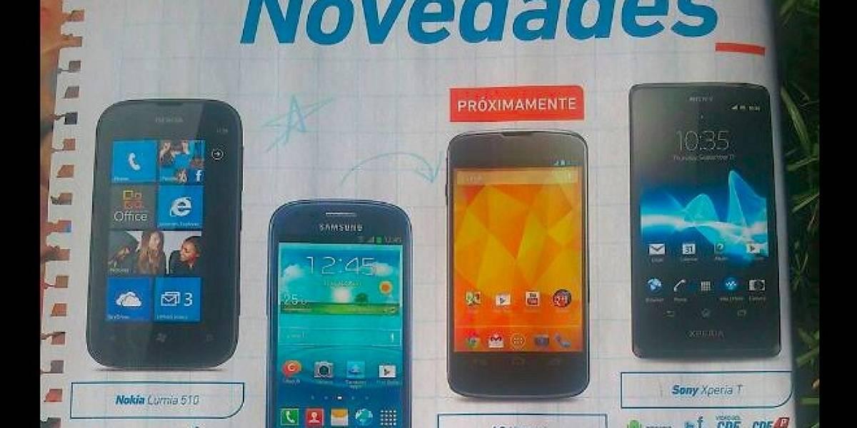 Chile: Entel anuncia la llegada del LG Nexus 4 a su catálogo de equipos