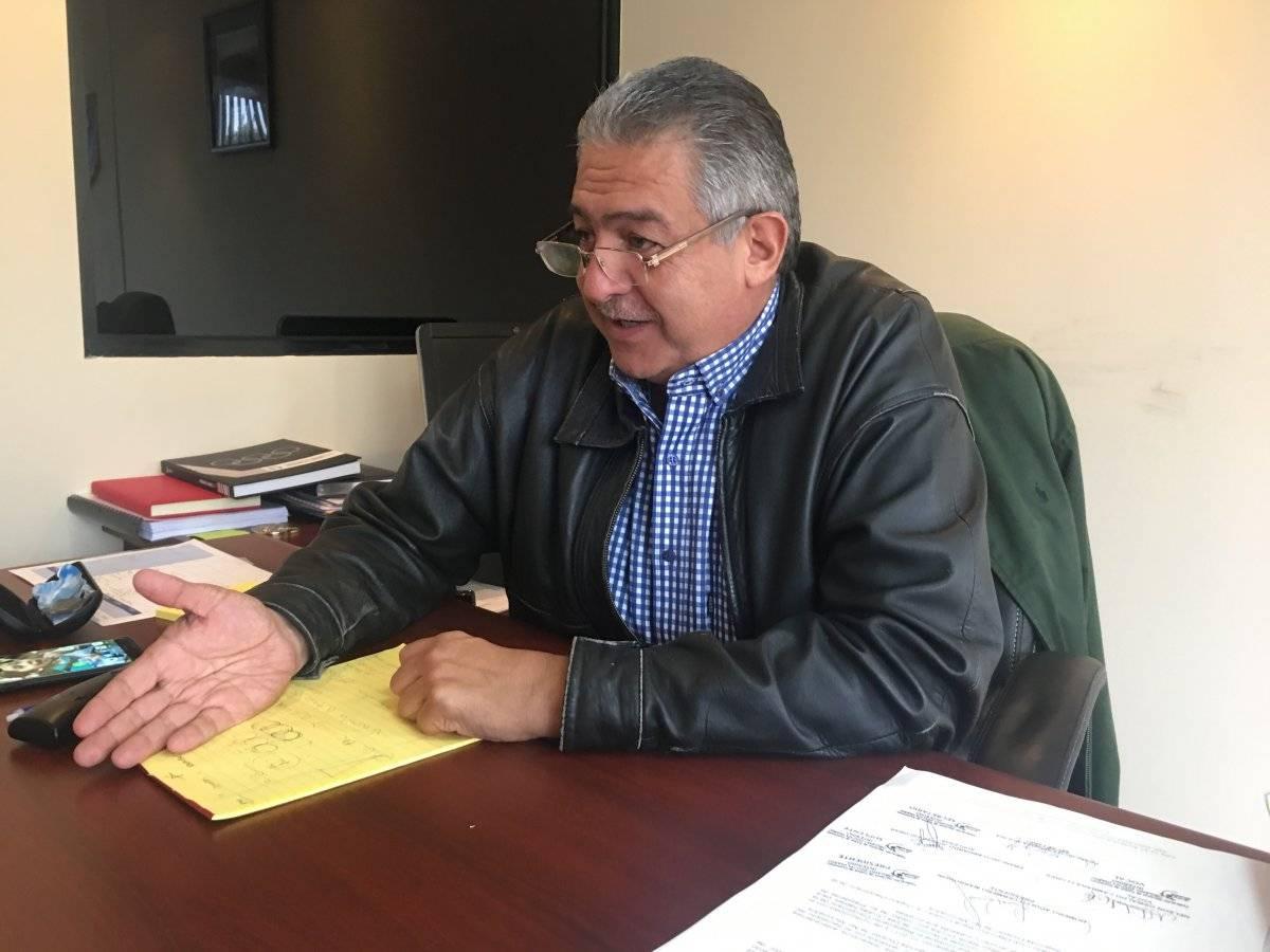 Jorge Mario Véliz fue electo como presidente de la Fedefut, en noviembre pasado. Foto: Reina Damián S.