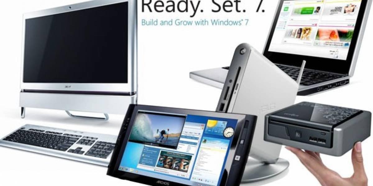 6 días para Windows 7: Equipos preparados para el SO de Microsoft (Parte 1)