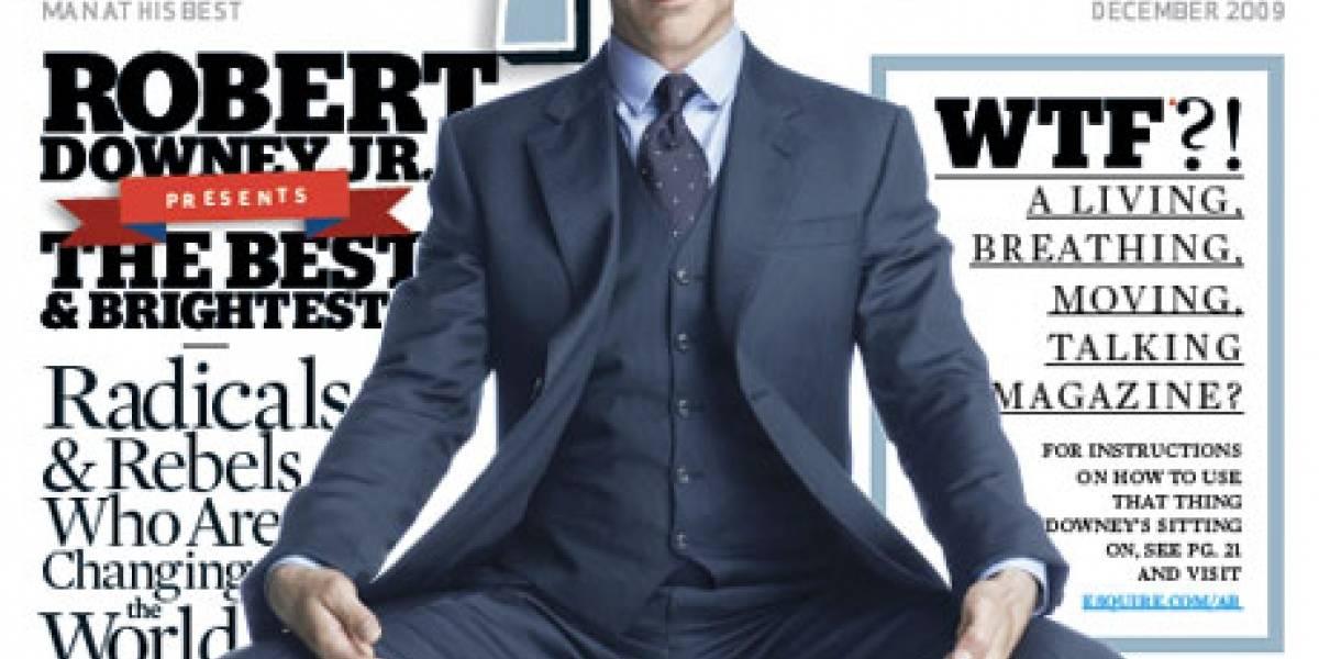 Revista Esquire apuesta por la realidad aumentada