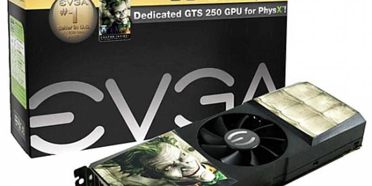 Tarjeta GPU + PhysX de EVGA ya está en el mercado