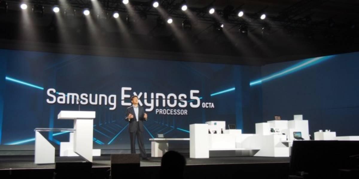 Samsung lanza nuevo Exynos 5 Octa con dos veces más rendimiento gráfico