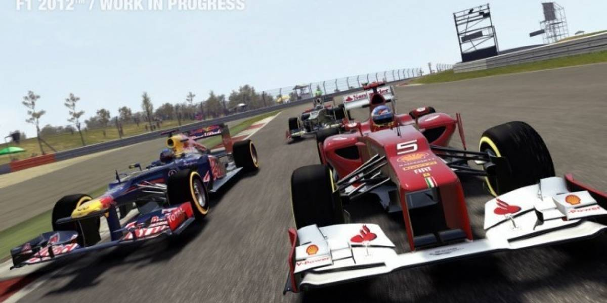 Se confirma demo de F1 2012 para la próxima semana