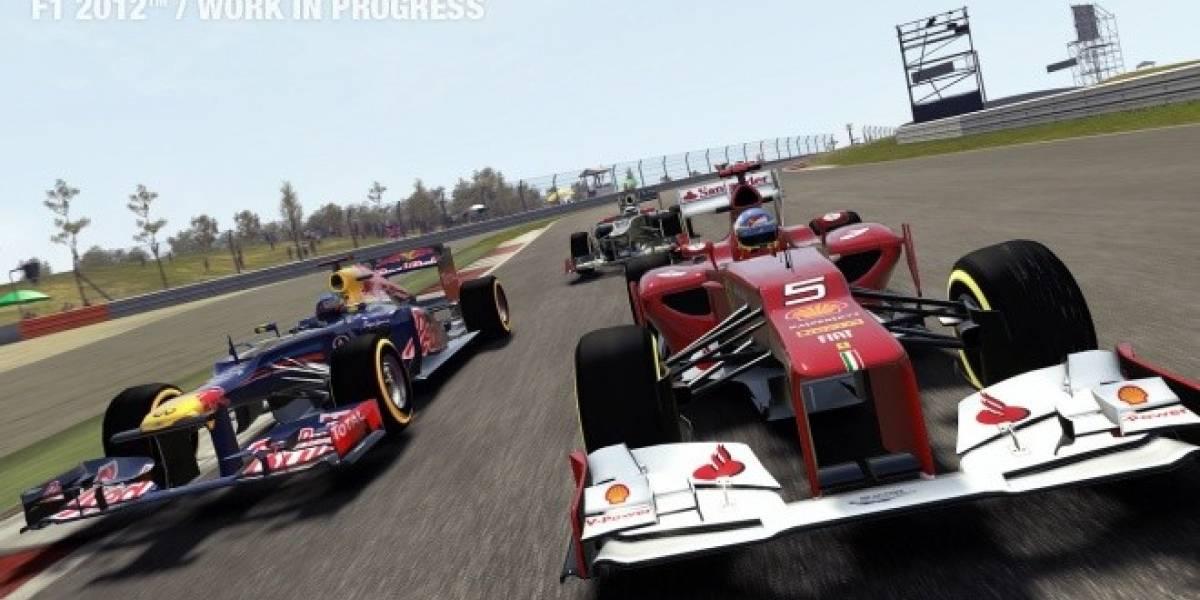 F1 2012 presenta su nuevo Champions Mode