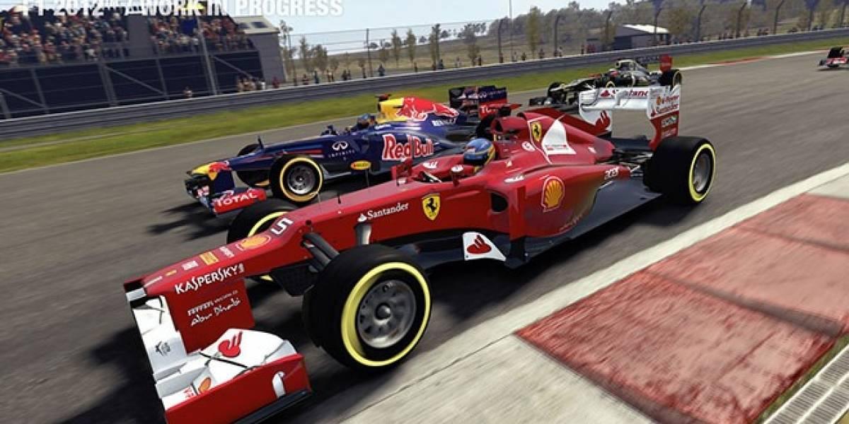 F1 2012 ya tiene fecha de lanzamiento