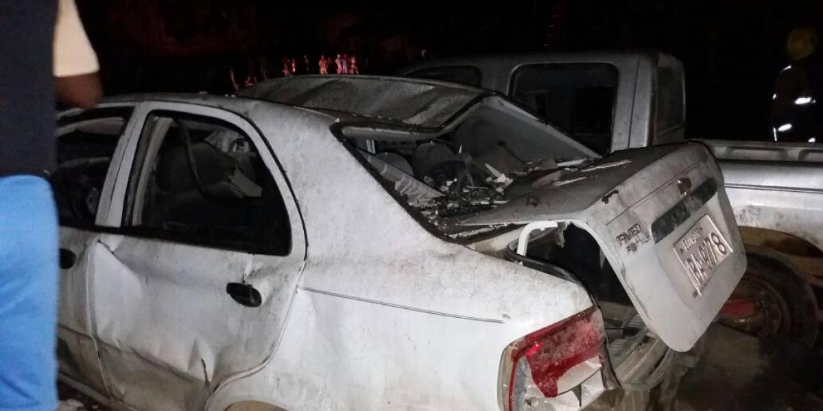 Explosión se produce en instalaciones de la Policía de San Lorenzo