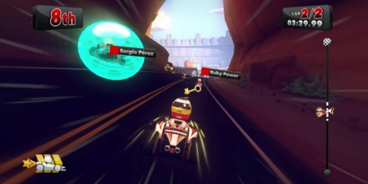 Aprendan a usar el turbo en las curvas con estos nuevos videos de F1 Race Stars