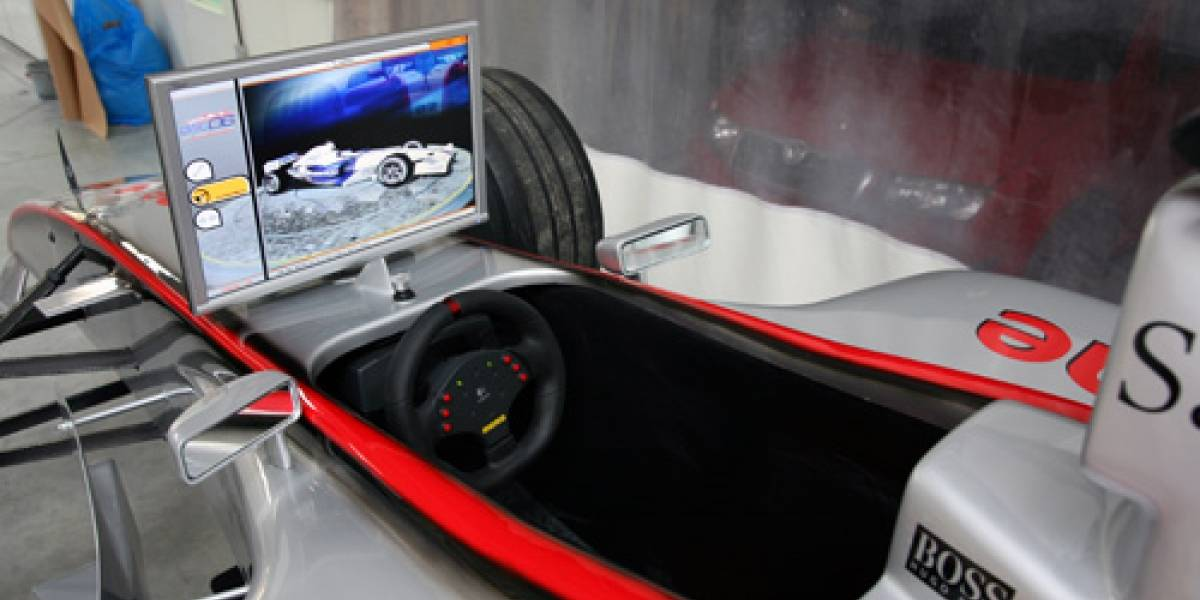 F1 Showcar: El más real de los simuladores de carrera