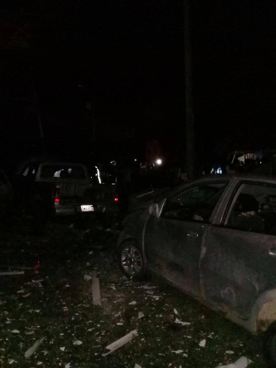 Explosión en San Lorenzo
