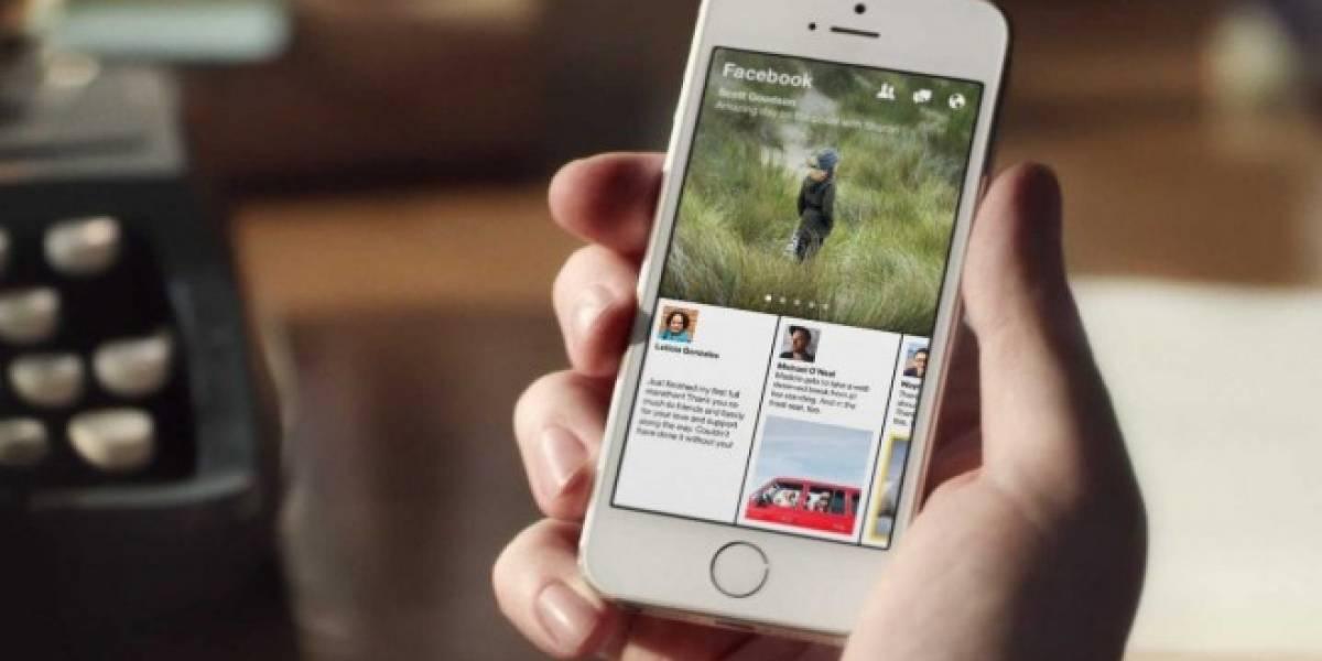 Facebook no tiene intenciones de expandir Paper a iPad, ni Android, ni fuera de EE.UU.