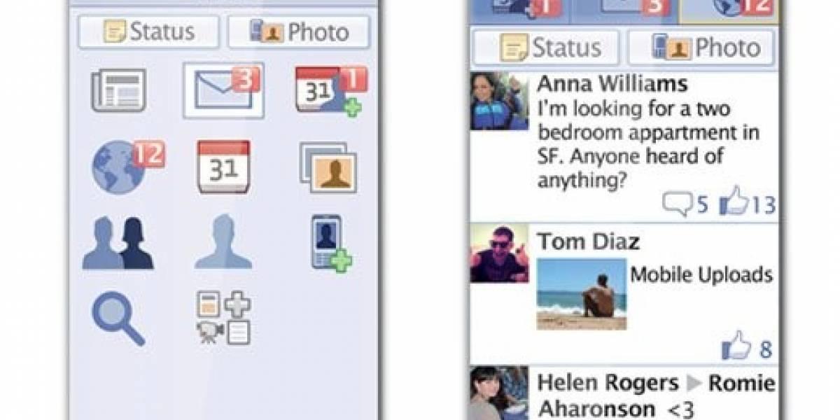 Facebook anuncia app móvil compatible con 2.500 dispositivos, incluso basados en Java