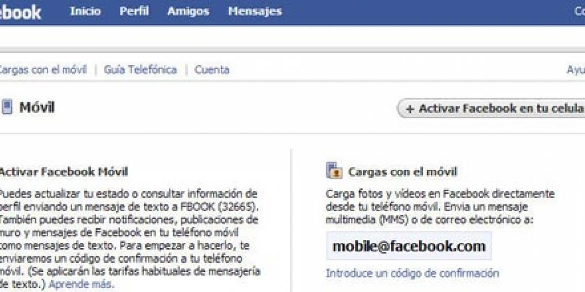 W Tip: Sube fotos a Facebook desde tu celular