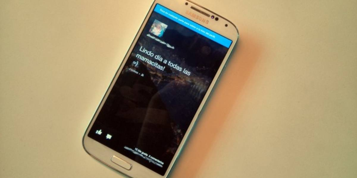 Facebook Home llega al Sony Xperia ZL, HTC One y al Samsung Galaxy S4