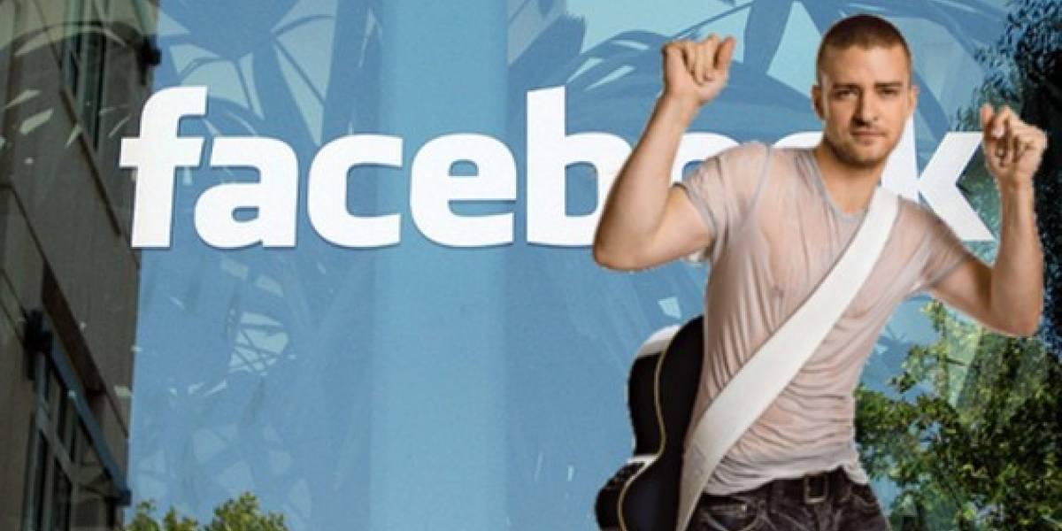 Justin Timberlake actuará en la película de Facebook