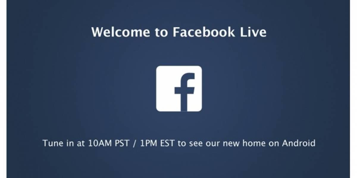 [En vivo] Facebook y su nuevo paso en el mundo móvil