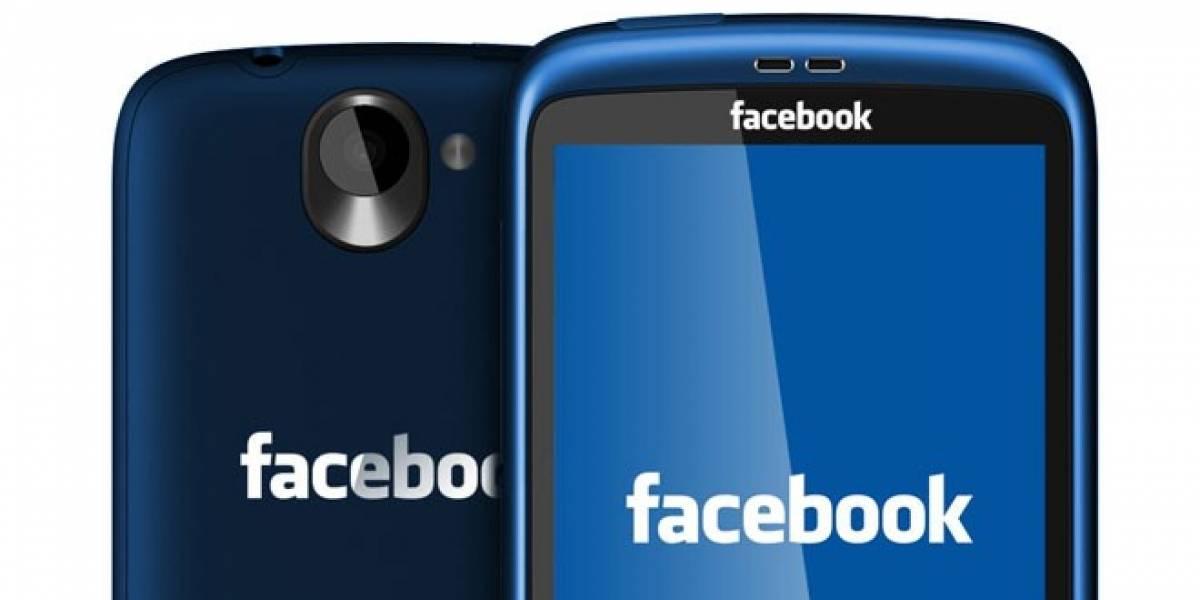 Estas serían las especificaciones del teléfono de Facebook hecho por HTC