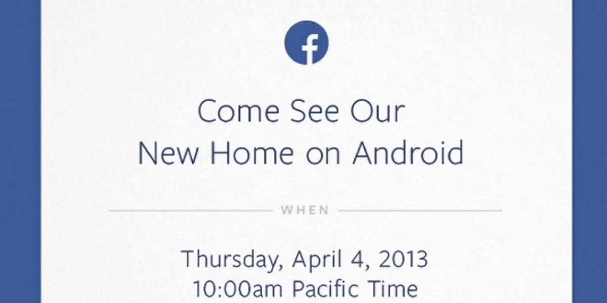 Facebook prepara un lanzamiento relacionado con Android para el 4 de abril