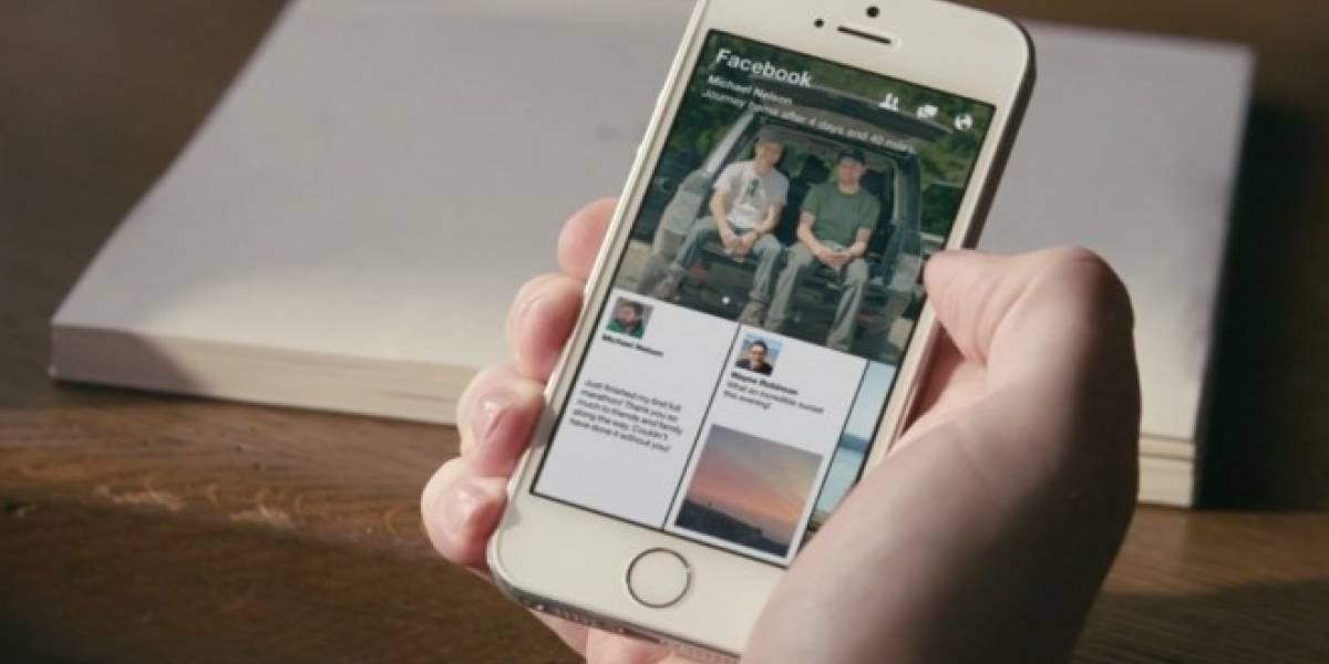 Facebook lanza su nueva aplicación Paper en EE.UU.