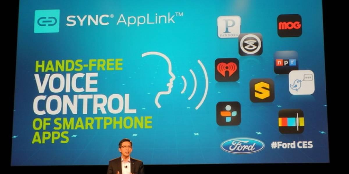 CES 2013: Ford presenta programa de desarrollo de aplicaciones para sus automóviles