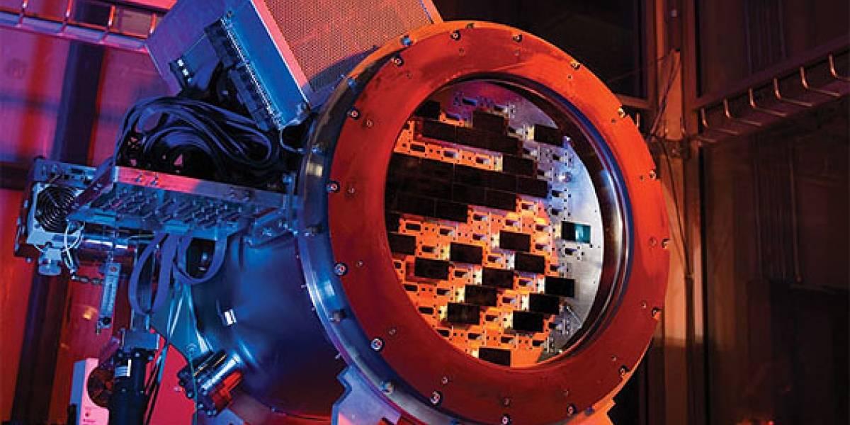 Fermilab construye una cámara de 570 megapíxeles para capturar la materia oscura