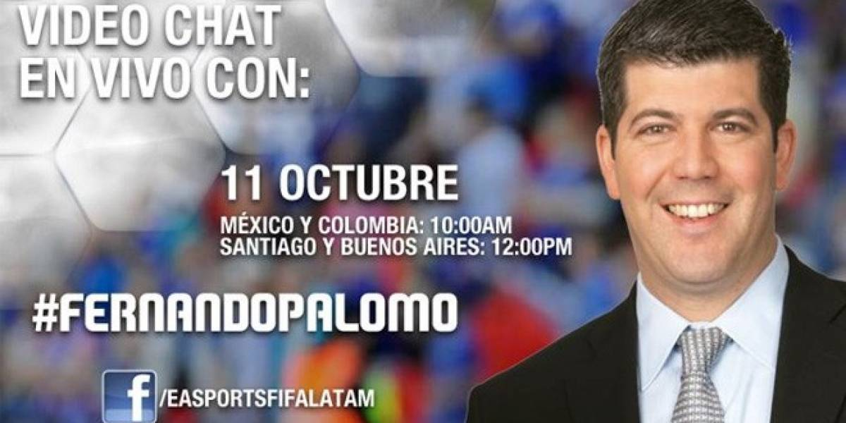 Fernando Palomo hablará sobre su trabajo en FIFA 13 en Facebook