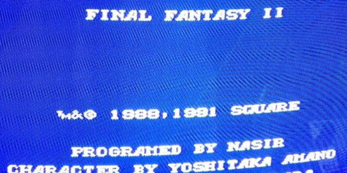 Lleve su Final Fantasy II americano a solo USD $50,000