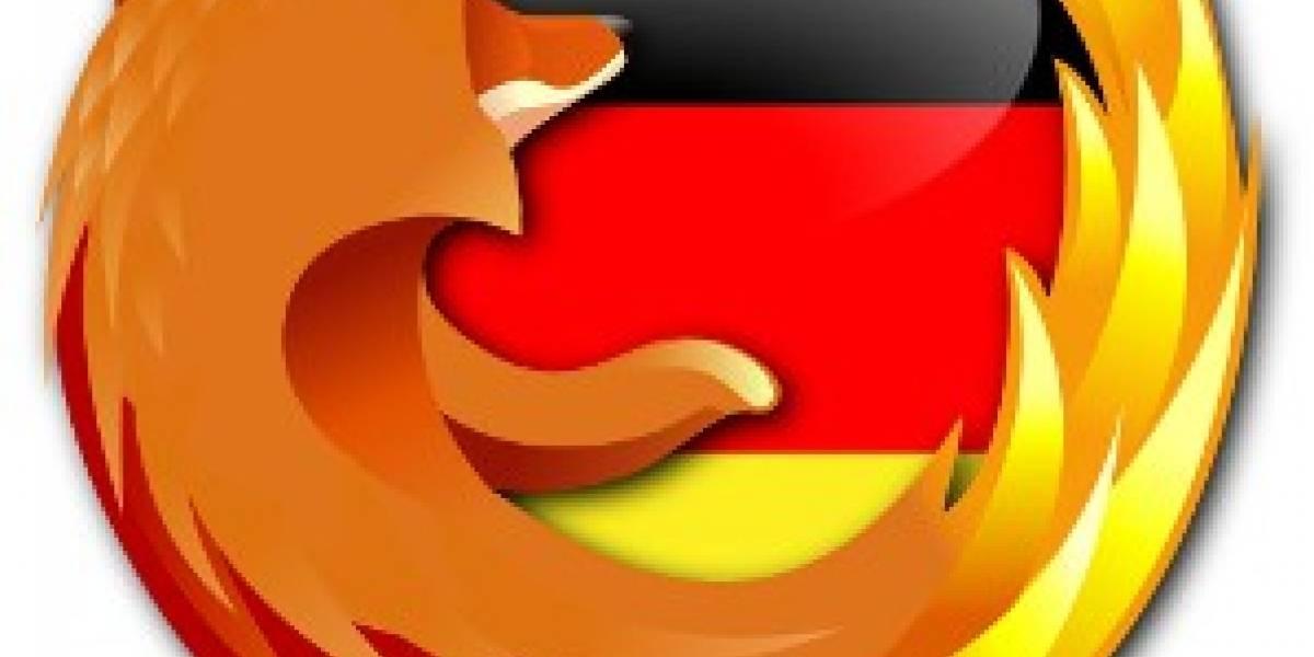 Gobierno alemán recomendó dejar de usar Firefox