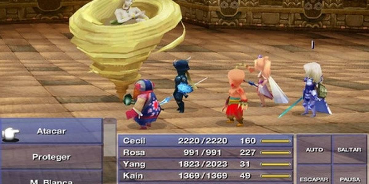 Final Fantasy IV ya se puede comprar para iPhone y la familia iOS