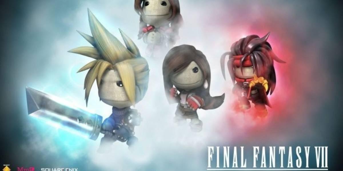 Recrean por completo la historia de Final Fantasy VII en LittleBigPlanet 2