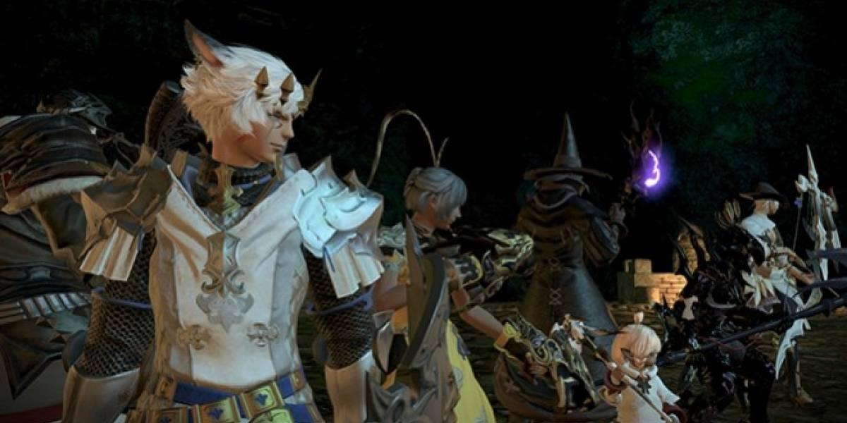 Así se pelea en equipo en Final Fantasy XIV: A Realm Reborn