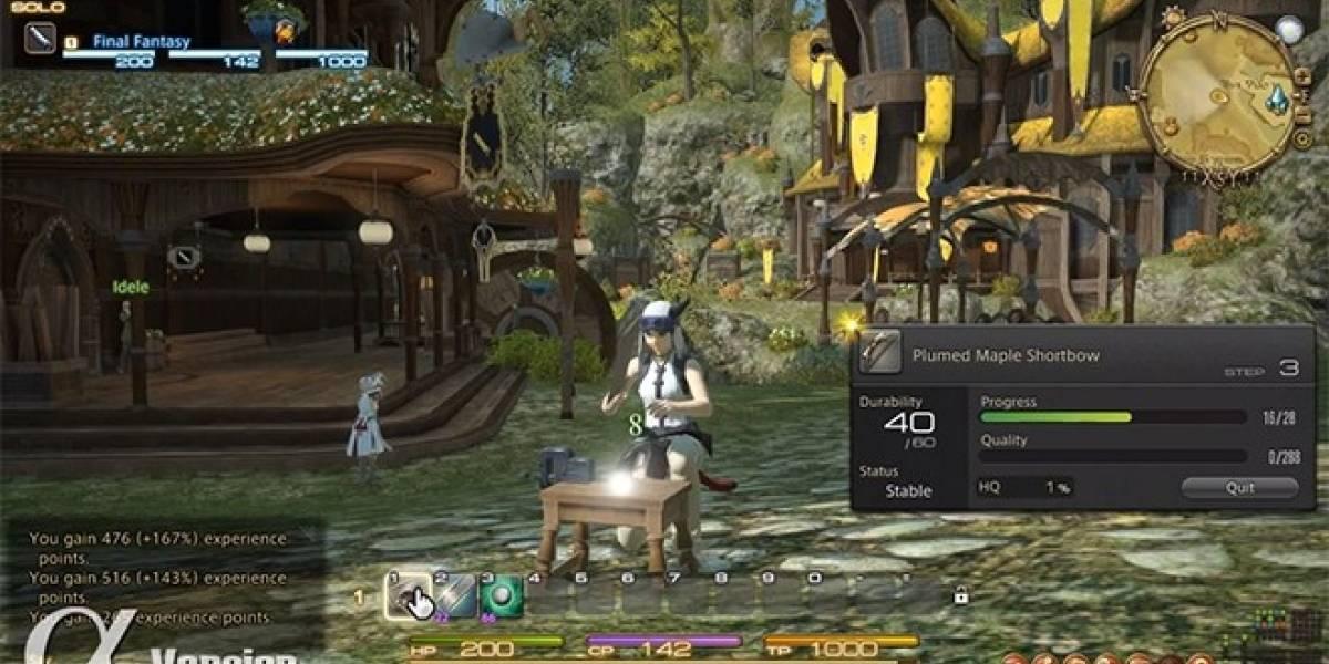 Así se crean las armas en Final Fantasy XIV: A Realm Reborn