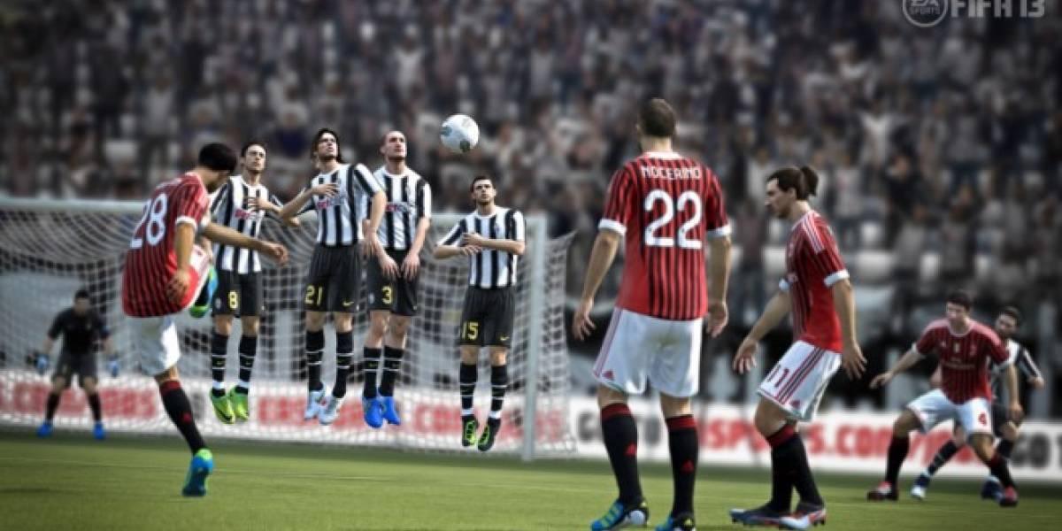 E3 2012: FIFA 13 contará con Kinect