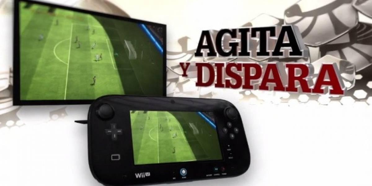 Este nuevo tráiler muestra las características del control de FIFA 13 en Wii U