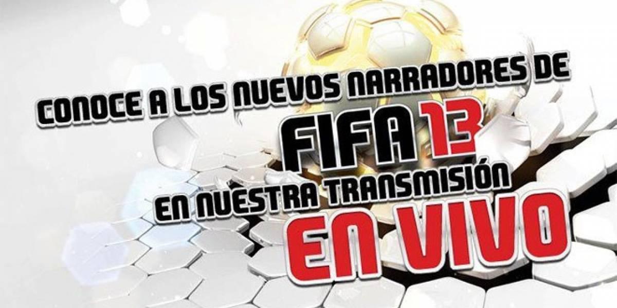 FIFA 13 revelará a sus nuevos narradores el próximo jueves