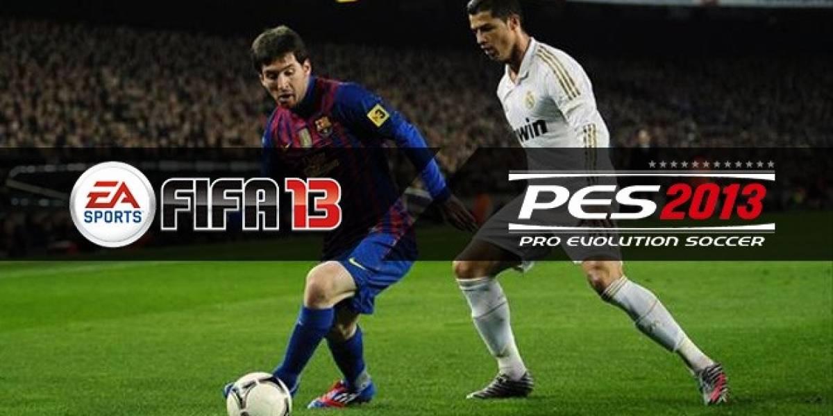¿FIFA 13 o PES 2013? El uno a uno que decide todo