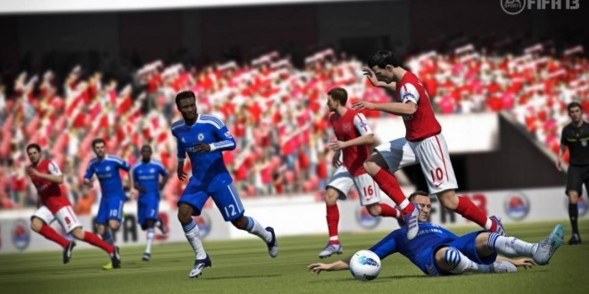 Tráiler de FIFA 13 nos muestra el nuevo Ataque Inteligente