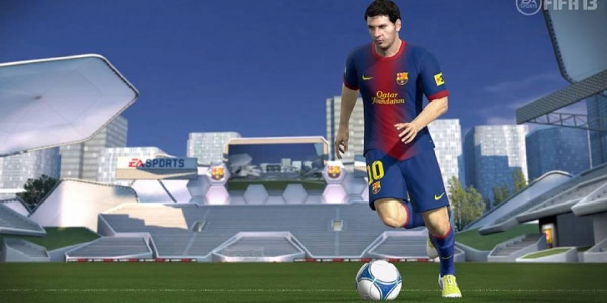 La demo de FIFA 13 rompe su propio records de descargas, las reservas están por las nubes