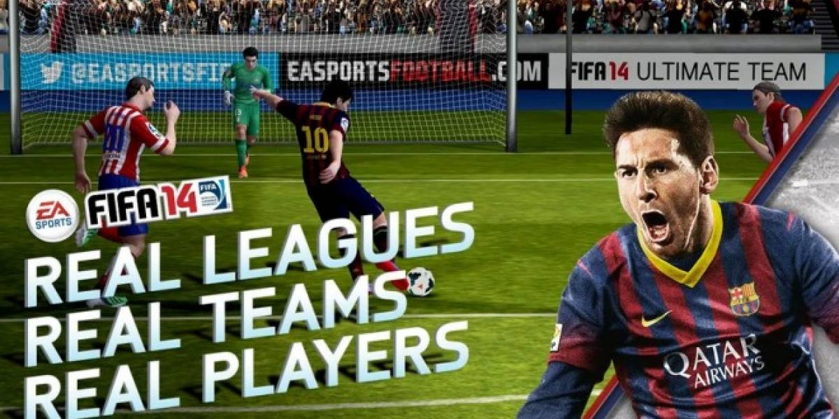 FIFA 14 ya se encuentra disponible para iOS y Android