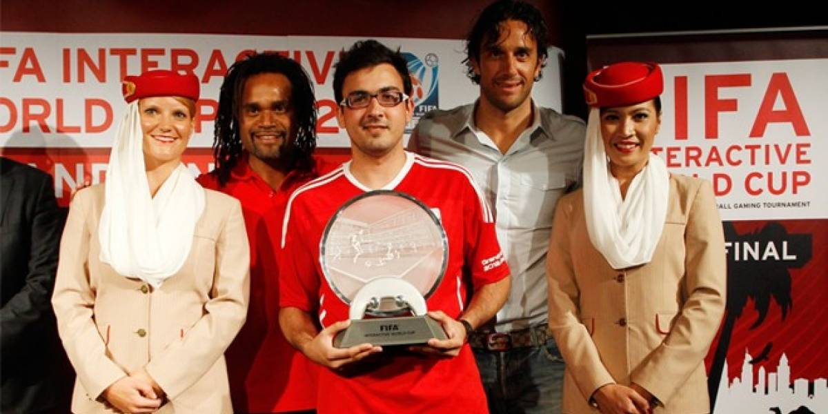 El español Alfonso Ramos: Segunda vez ganador mundial de la FIFA Interactive World