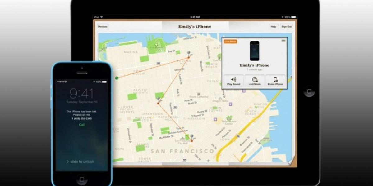 Nuevo error en iOS 7 permite evitar el borrado remoto en el iPhone 5S