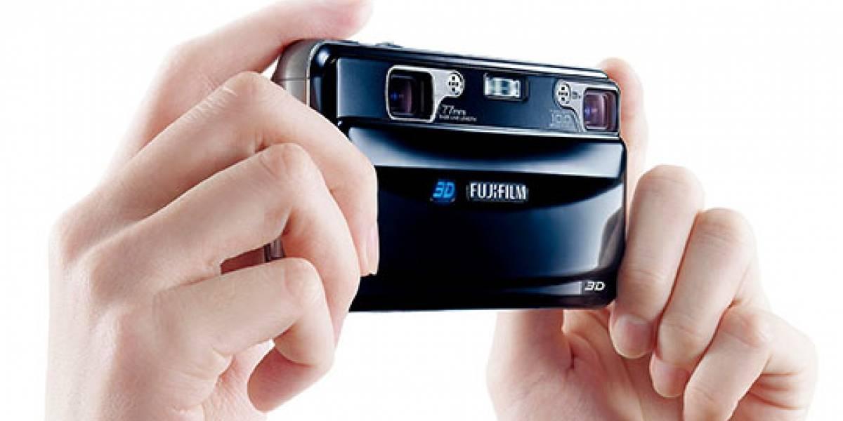 Presentan de manera oficial la cámara FinePix Real 3D W1 y el marco digital V1